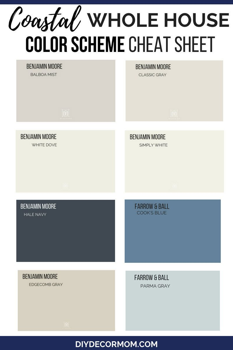 Whole House Color Scheme And Color Palette