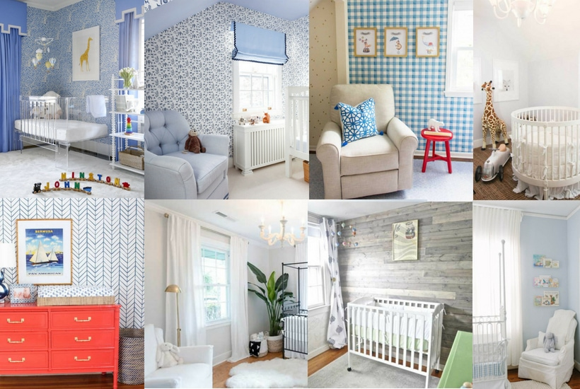 Boy Nursery Ideas: 32 Cutest Baby Boy Nurseries & Themes