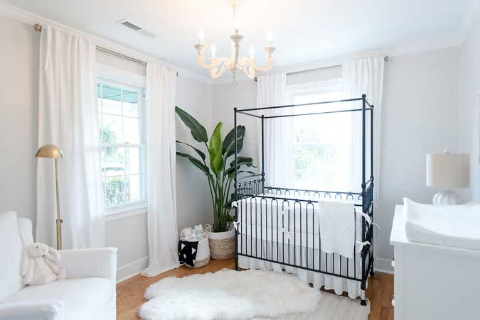 Airy Nursery Ideas For Boys From Holy City Chic