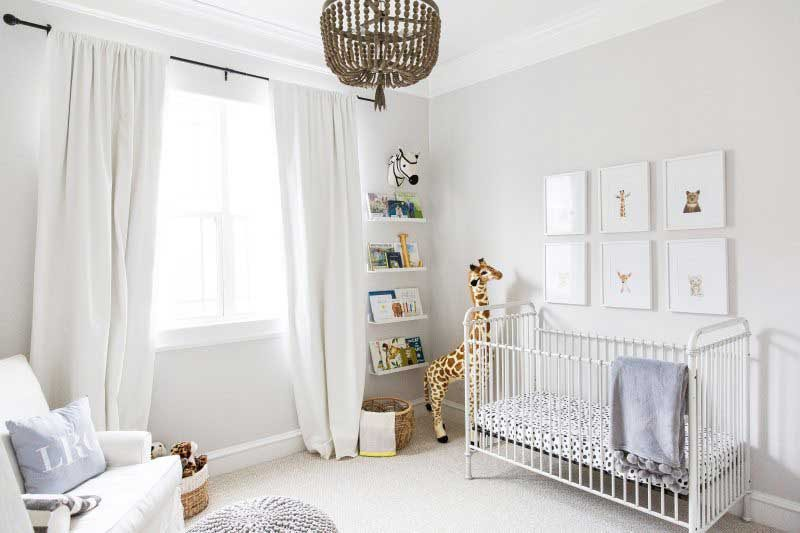 airy and calm boy nursery design ideas from veronika's blushing