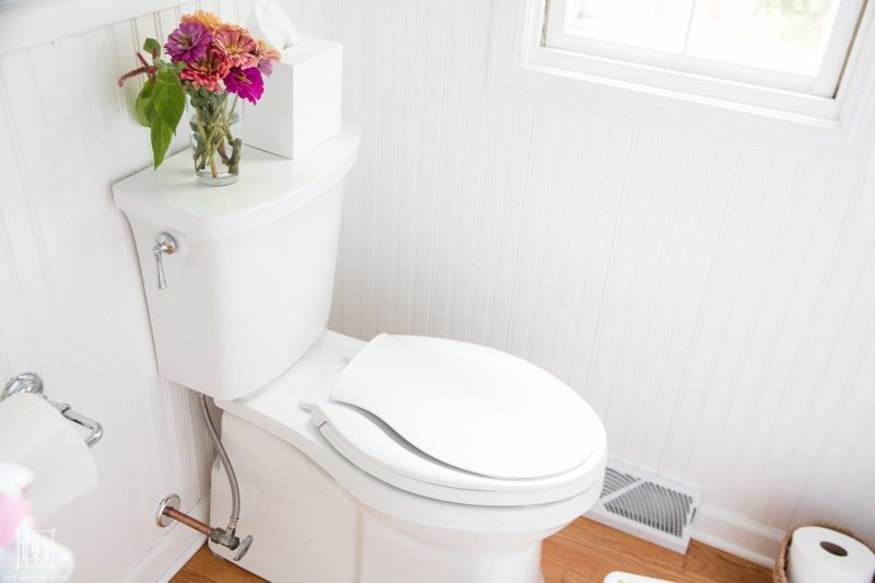 bathroom cleaning tips- clean toilet