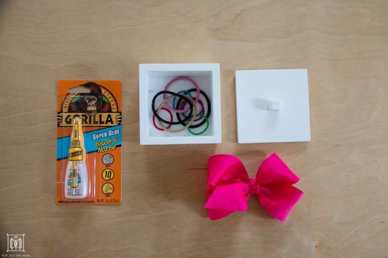 materials for diy ponytail holder