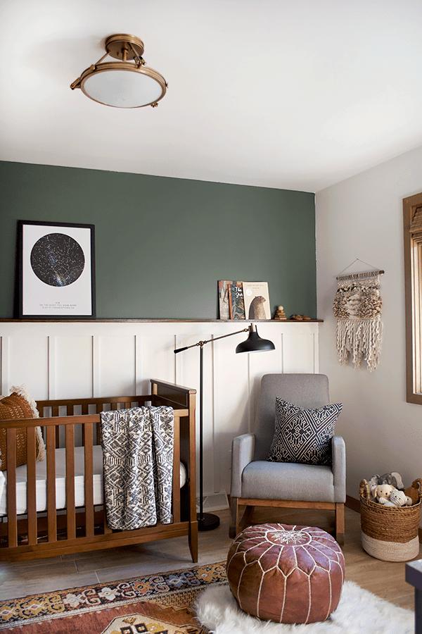 modern vintage nursery by brepurposed