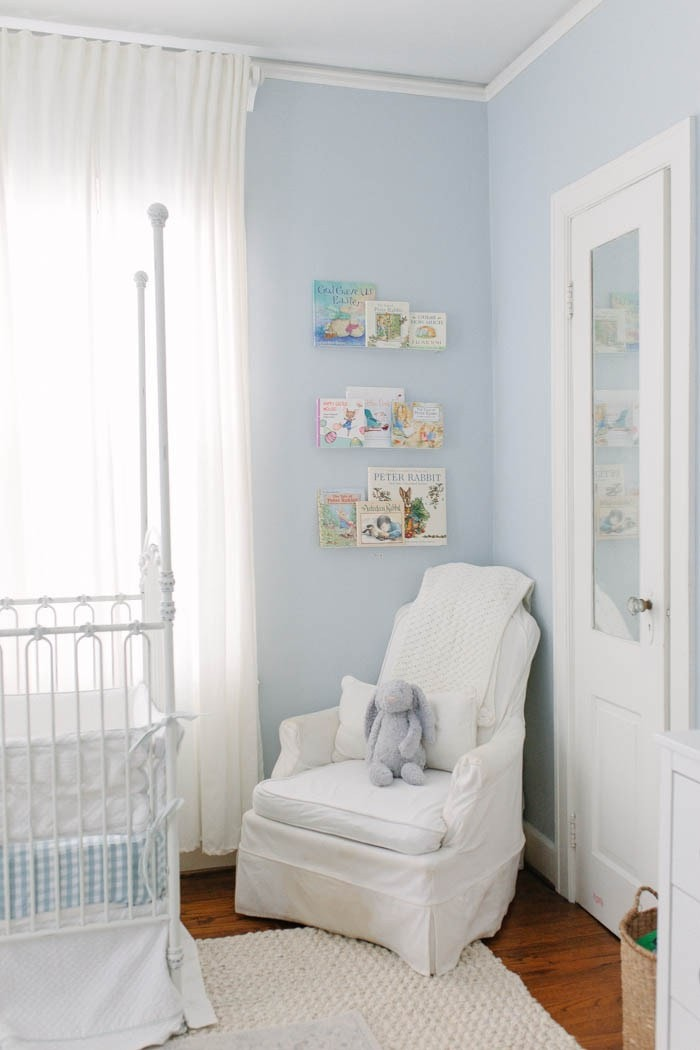 puppy dog blue nursery from southern mama guide