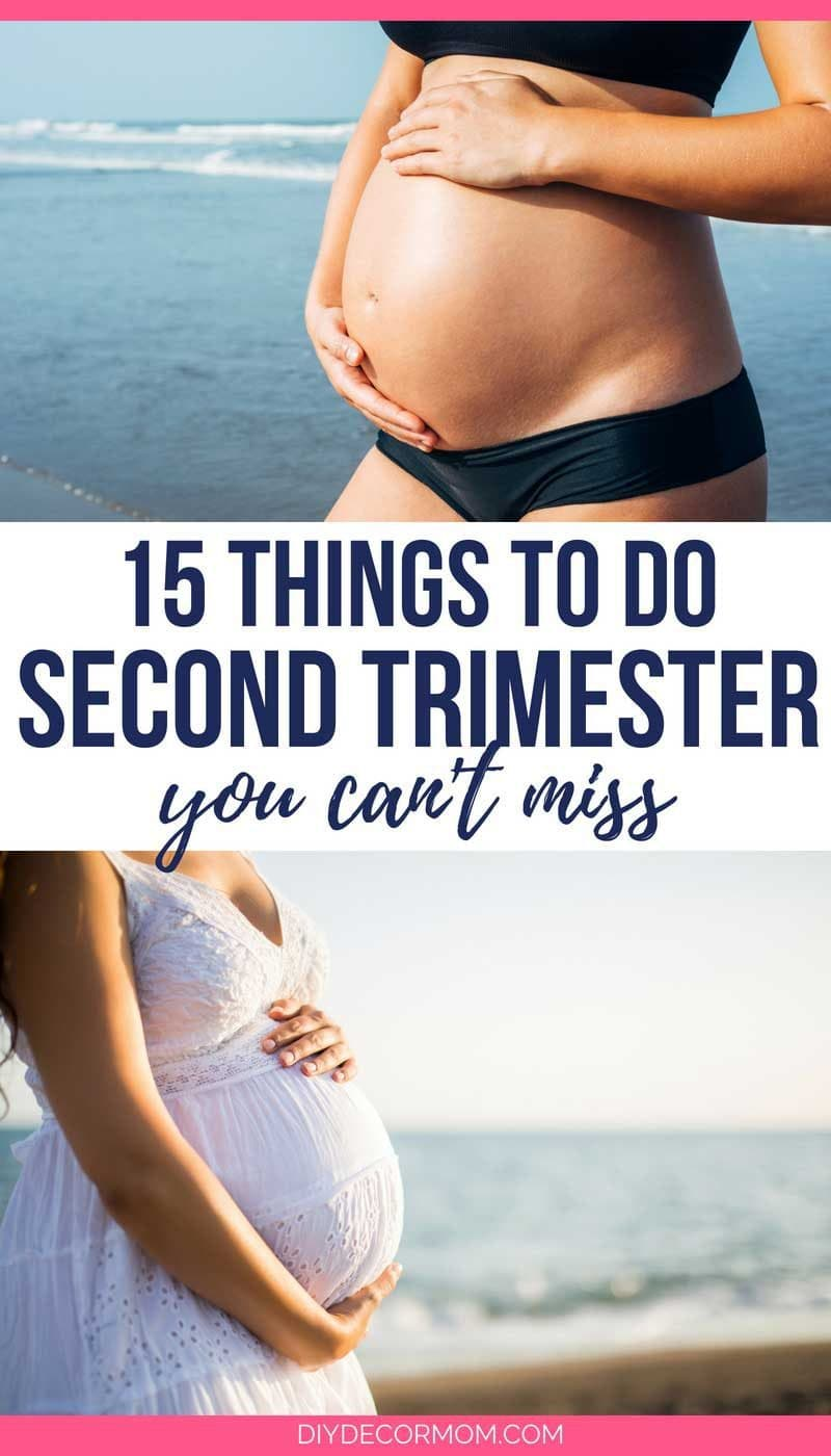 Things to Do in your Second Trimester of Pregnancy