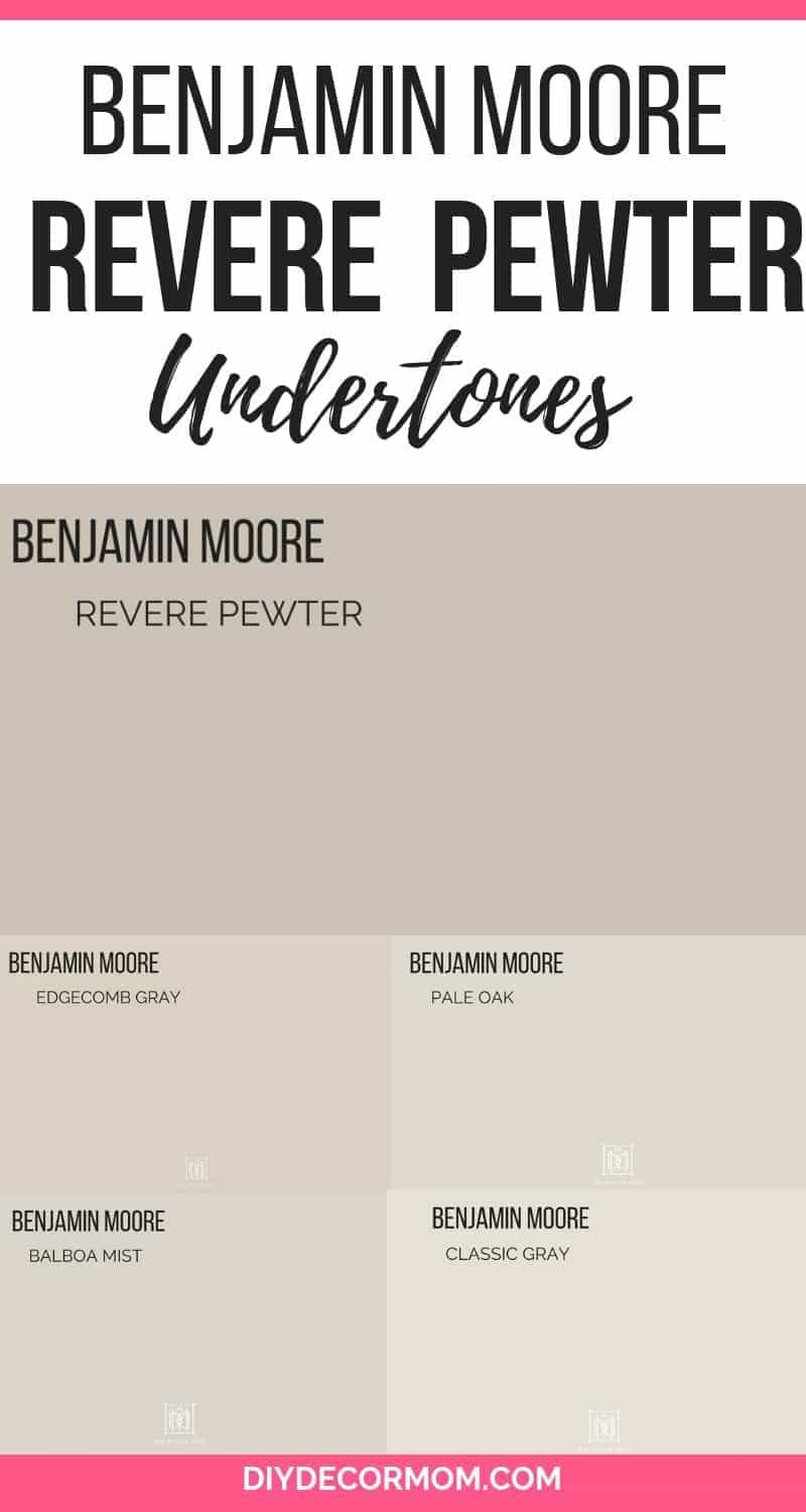 benjamin moore revere gray compared to other benjamin moore gray paint colors