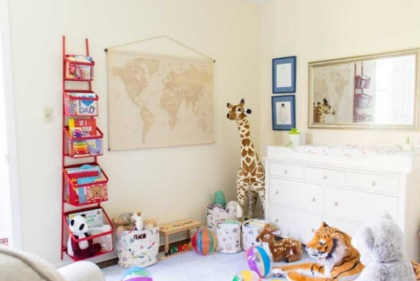 The Sweetest Circus Themed Boy Nursery with Addie Gundry