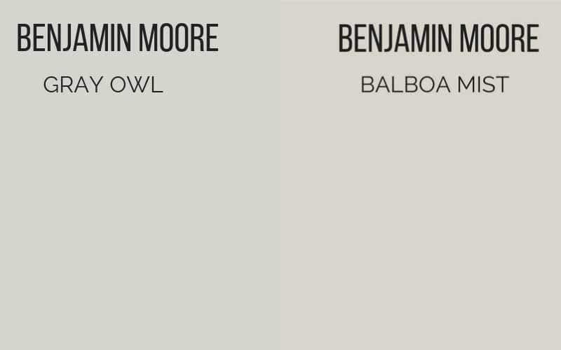 BM Gray Owl vs Balboa Mist