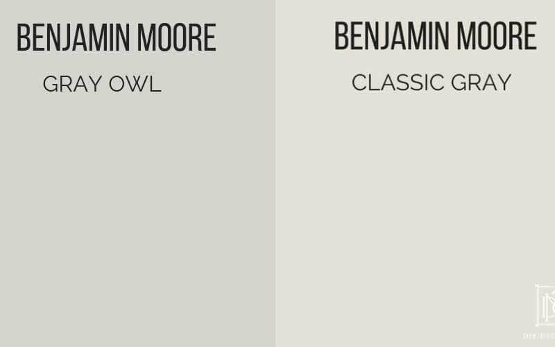 Gray Owl vs Classic Gray