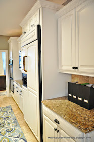 how to paint kitchen cabinets using BM cabinet paint Advance line by Thrifty Decor Chick