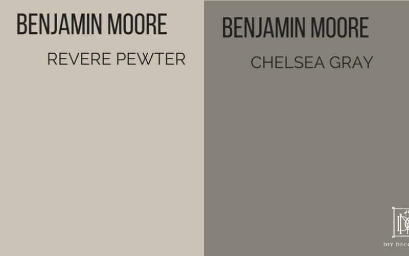 revere pewter vs chelsea gray