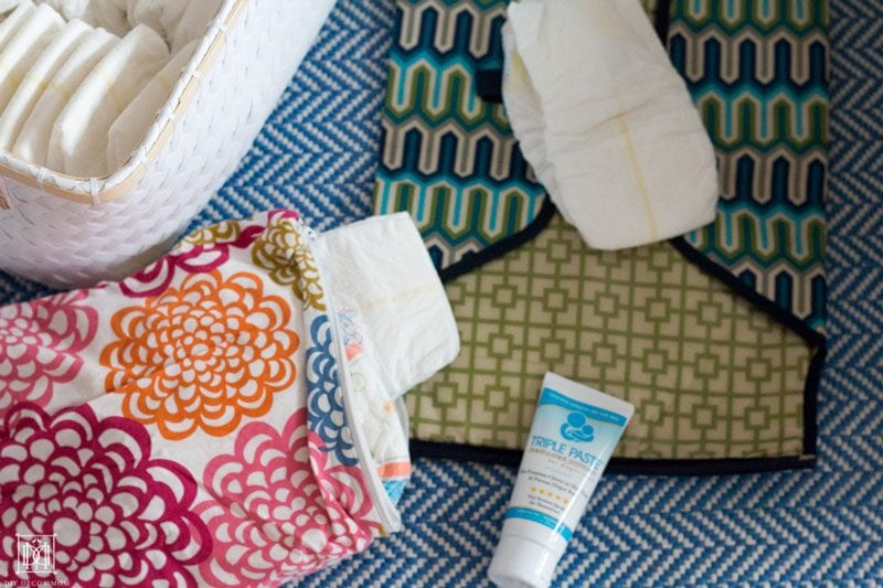 blow out kit for changing diapers
