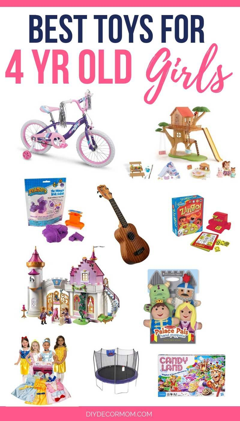 Remarkable gifts for 4 years old girl speaking