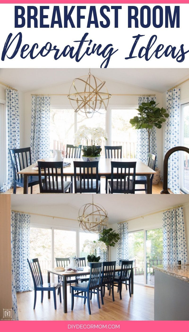 breakfast room decorating ideas