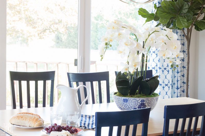 how to make your kitchen table a cozy morning room