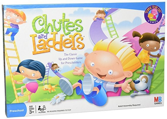 chutes and ladders best boardgames and toys for five year old girls