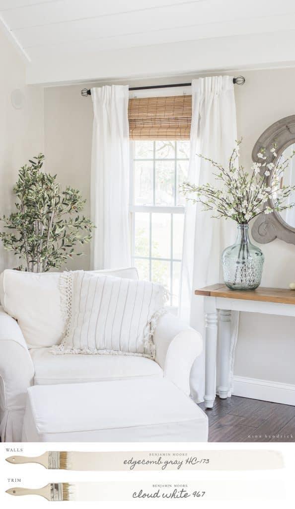 Edgecomb Gray Family Room By Nina Hendrick