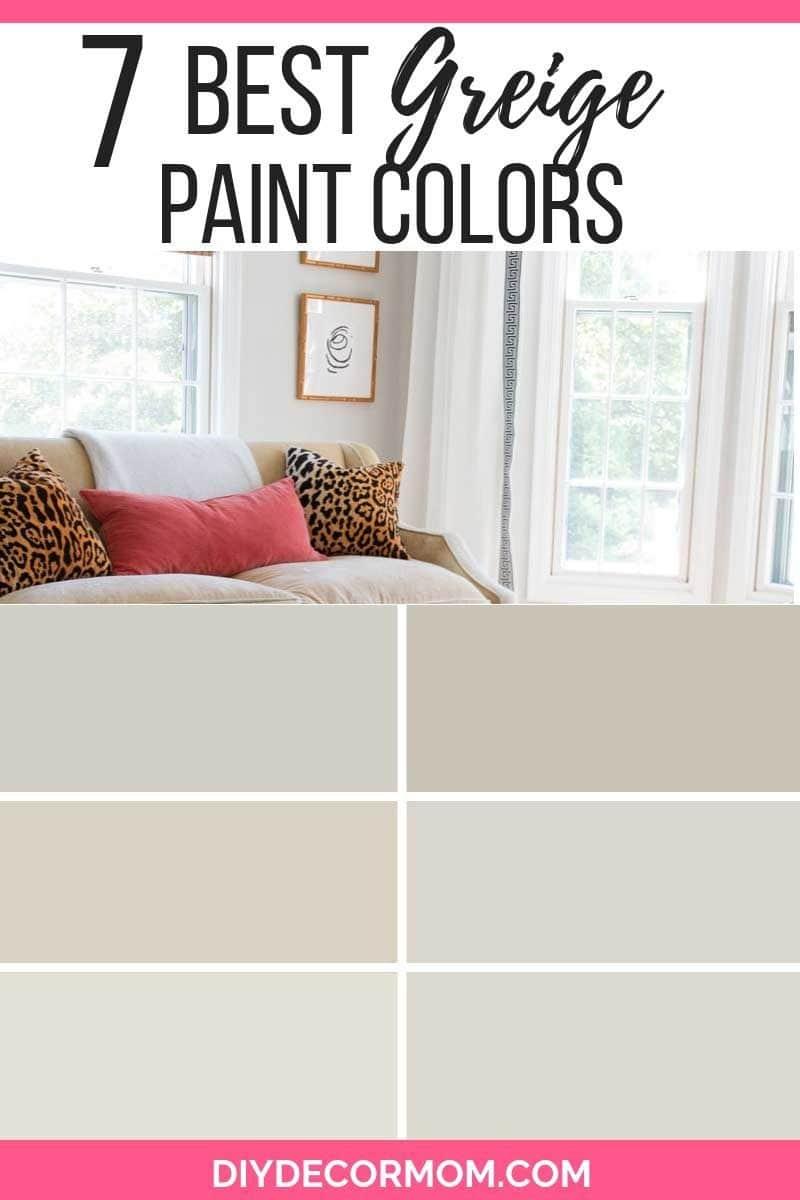 greige paint colors- best greige paint from benjamin moore