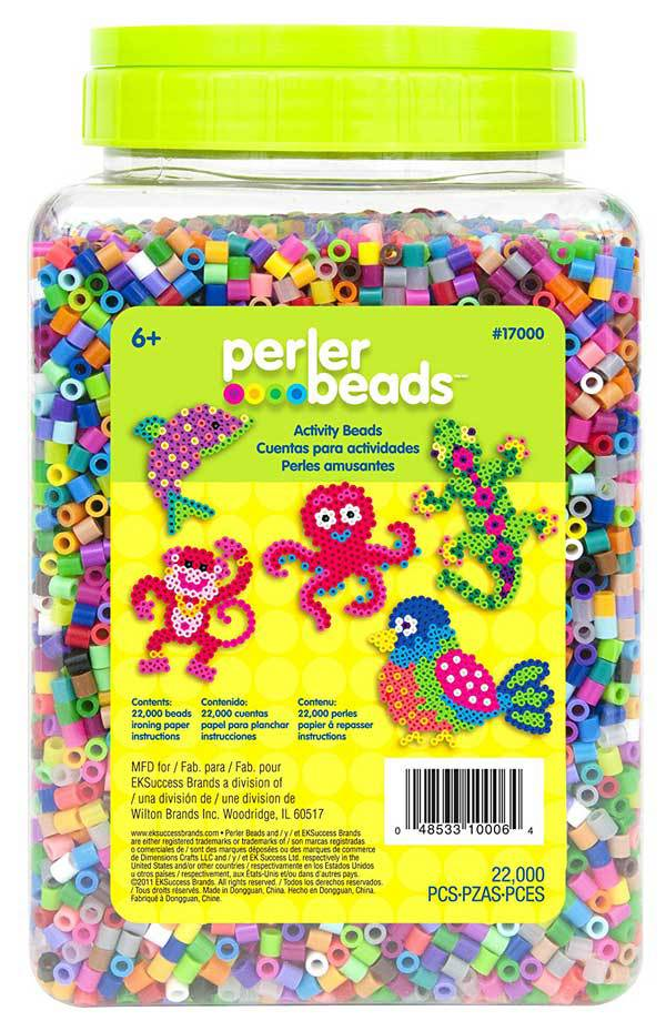 five year old girls favorite toys like a perler bead kit