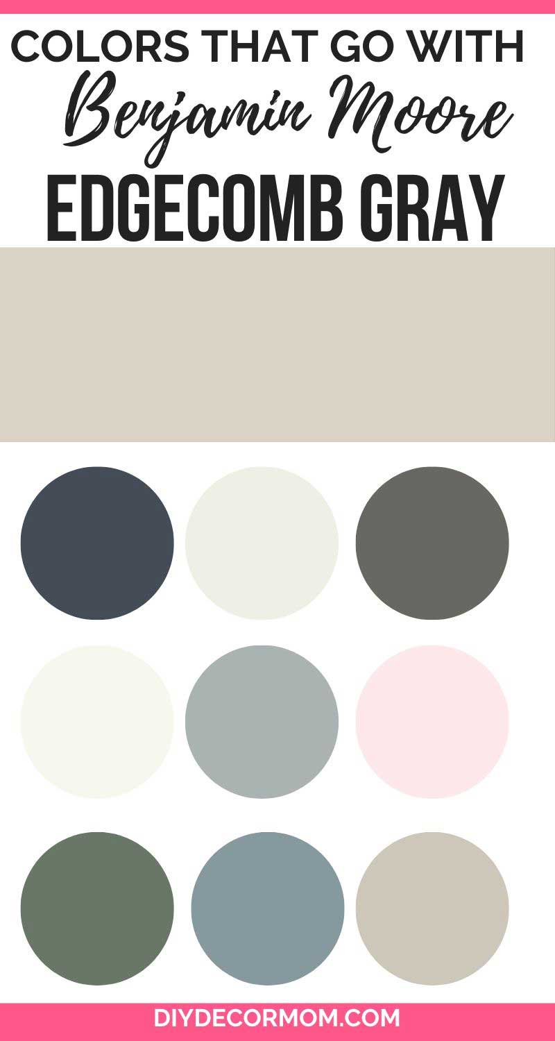 colors that go with edgecomb gray