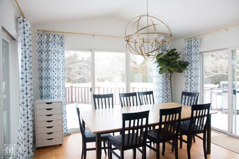 benjamin moore simply white breakfast room and kitchen