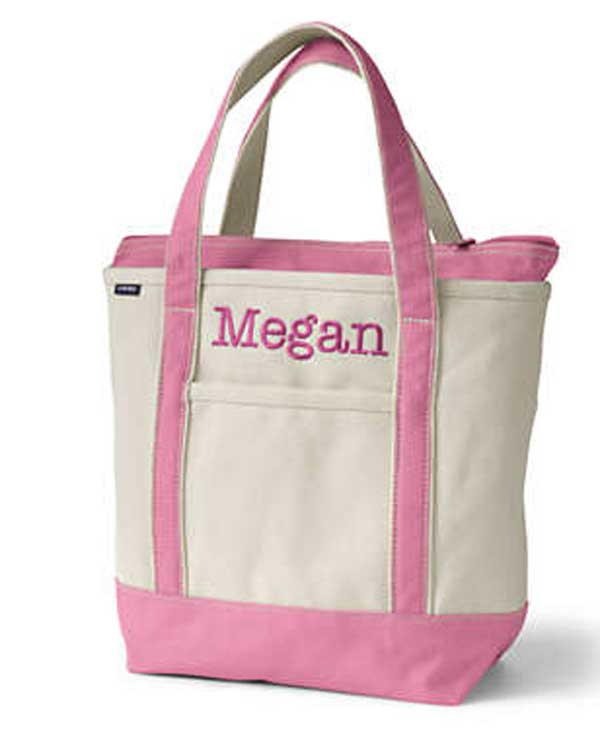 gifts for kids who have everything- personalized luggage boat toes