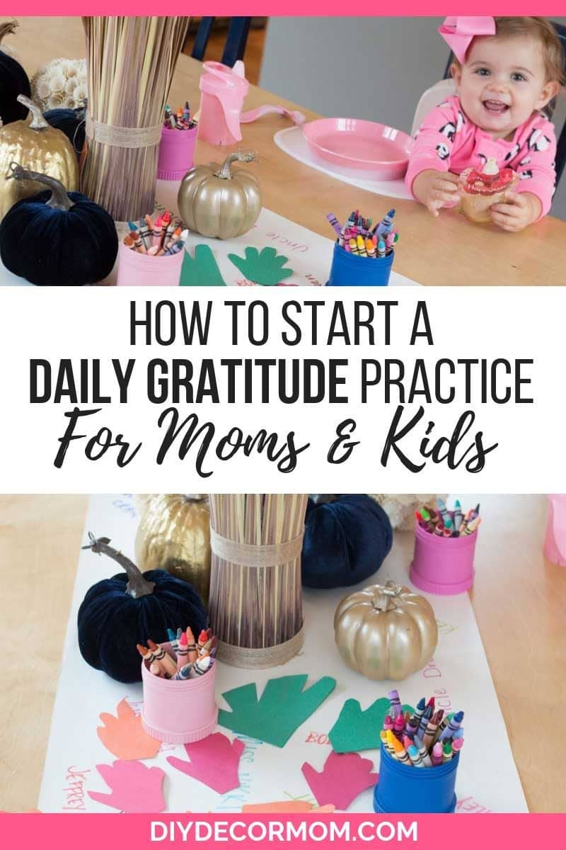 gratitude practice for moms and kids