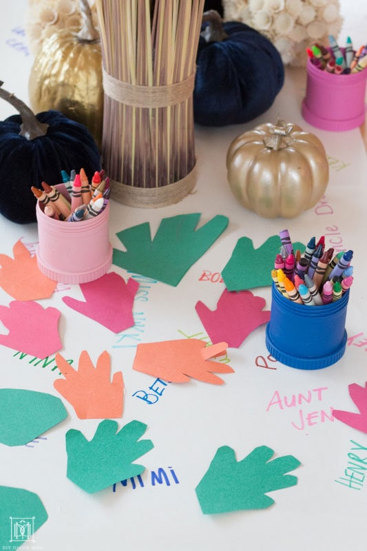 how to make a thanksgiving gratitude tree
