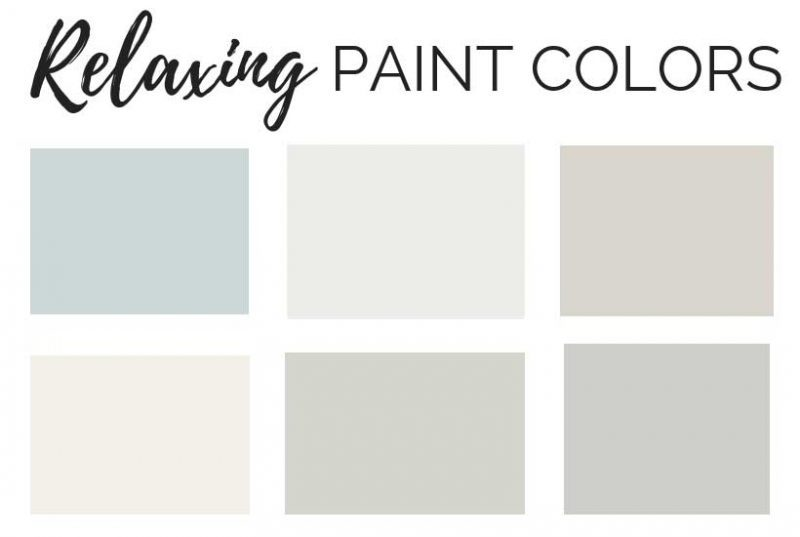 relaxing paint colors to make your bathroom feel like a spa