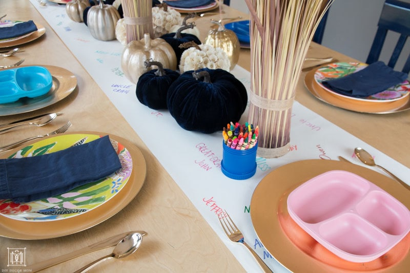 Thanksgiving Table for Kids: The Easiest Kid-Friendly Tablescape