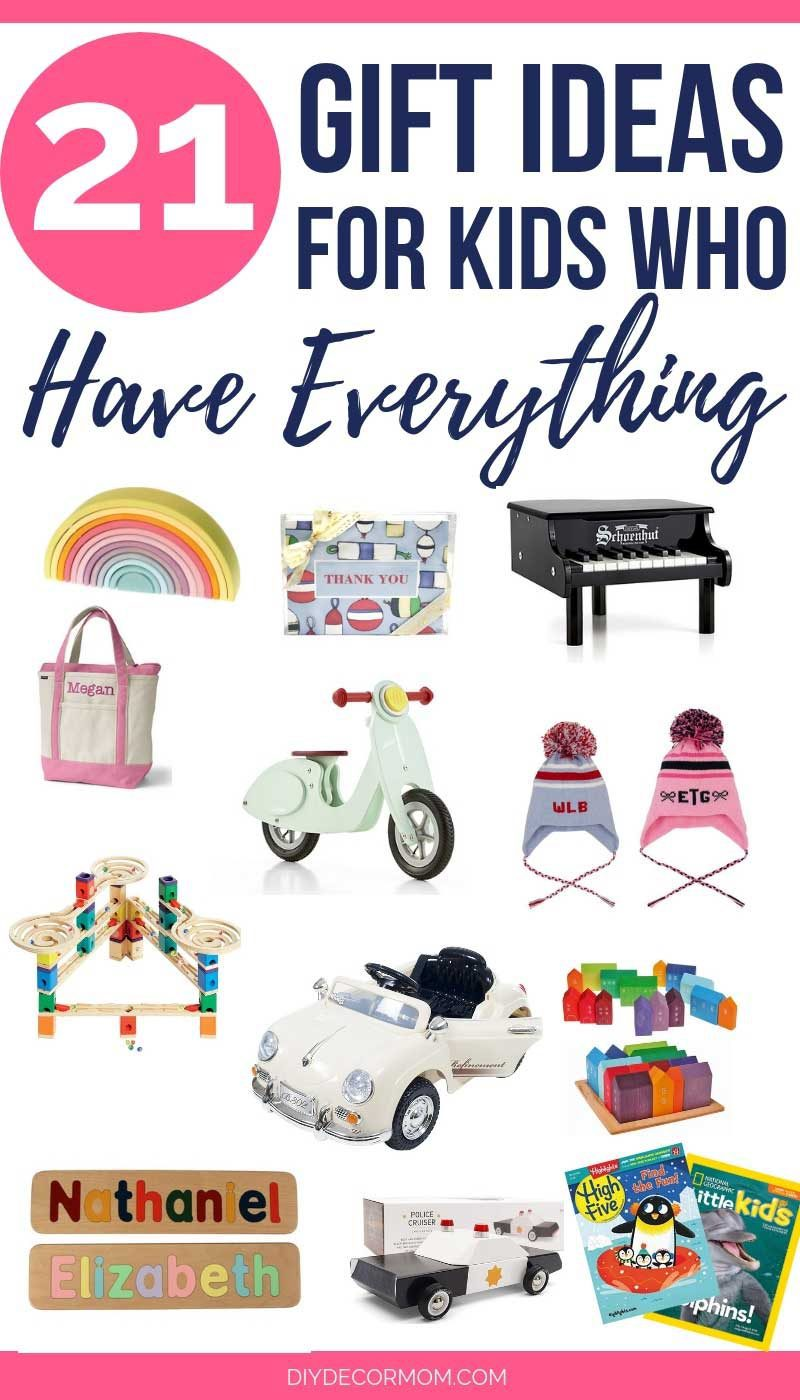 what to get kids who have everything- 21 unique gift ideas in a gift guide