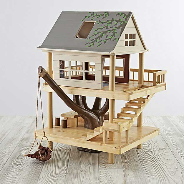 what to give a kid who has everything--a treehouse!