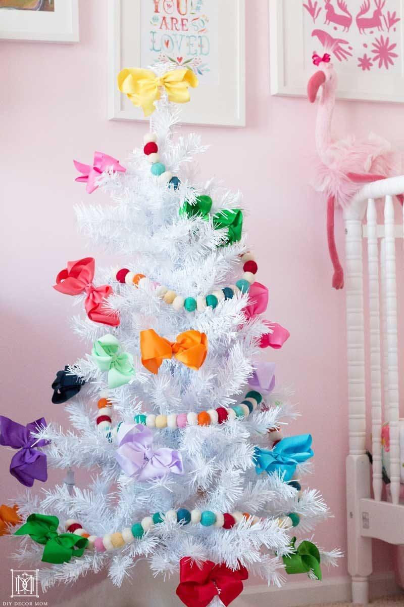 Christmas Kids Bedroom Girly Christmas Decor Diy Decor Mom