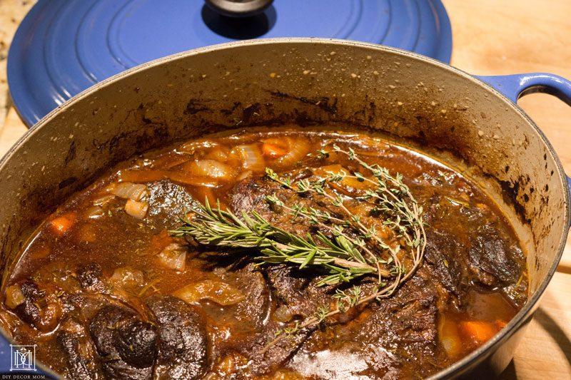 easy pot roast- great way to reduce holiday stress