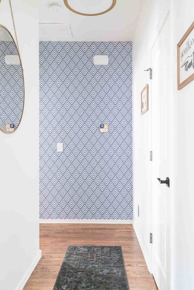 bm white dove hallway by polished habitat