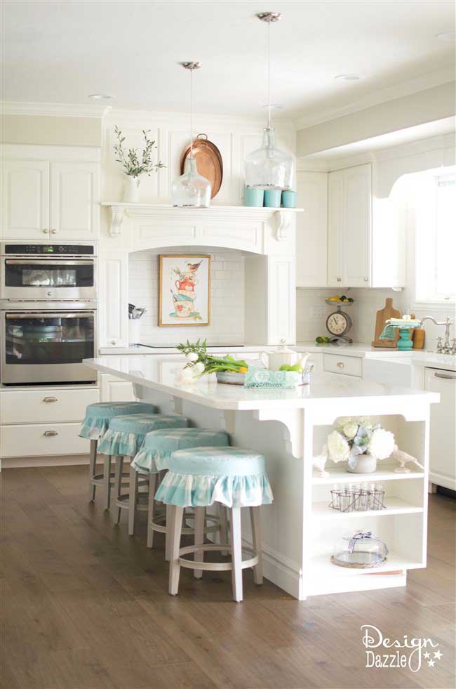 bm white oc-17 dove kitchen by design dazzle