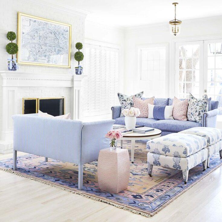 White Dove Living Room