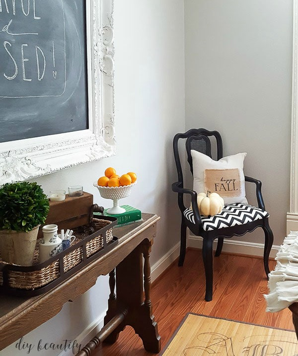 Repose Gray dining room by DIY Beautify