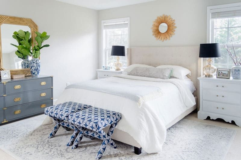 agreeable gray bedroom- the home i create