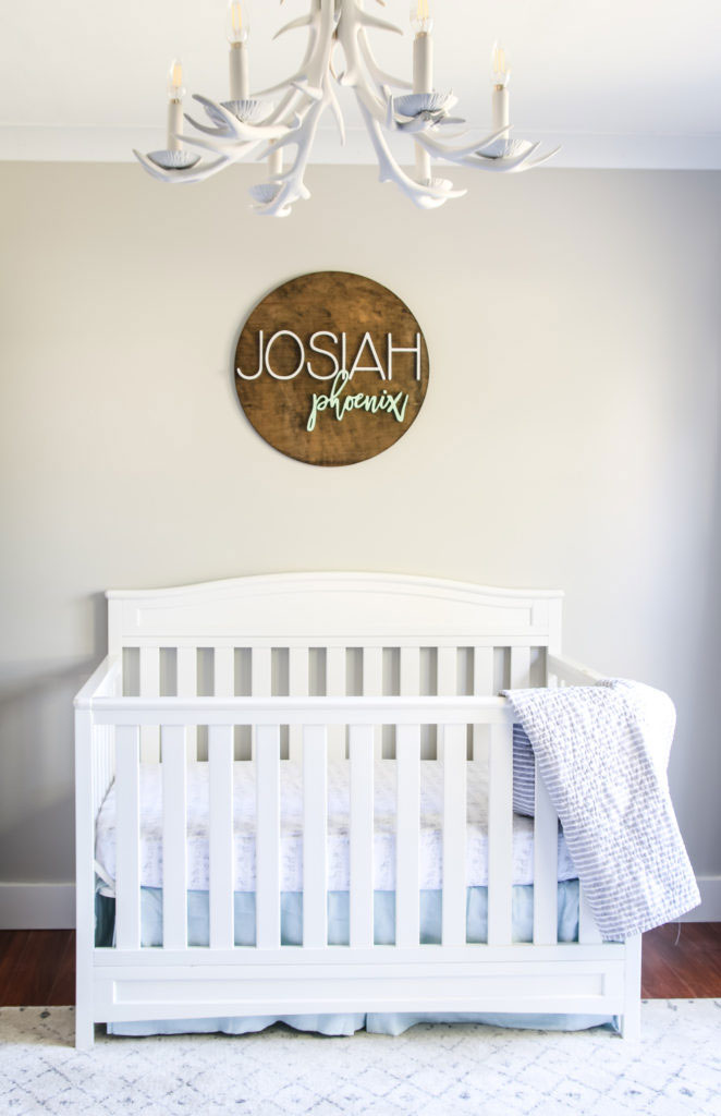 agreeable gray nursery by living letter home