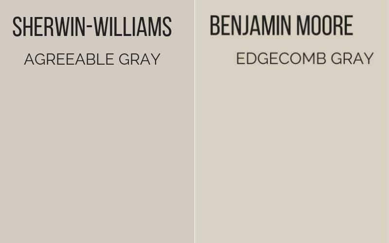 agreeable gray vs edgecomb gray