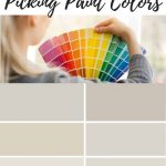 picking paint colors chips