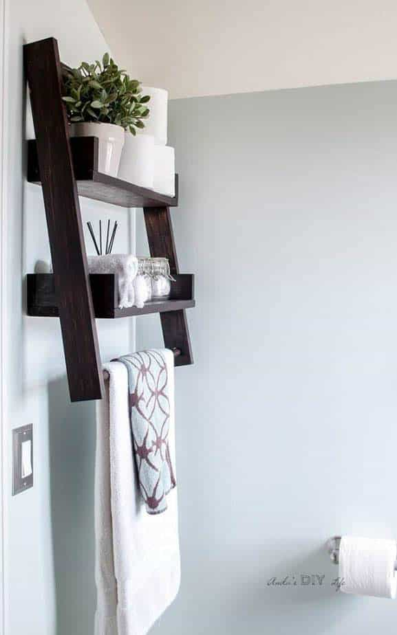 Bathroom Shelf Ideas 15 Clever Diy Bathroom Shelves For Bathroom
