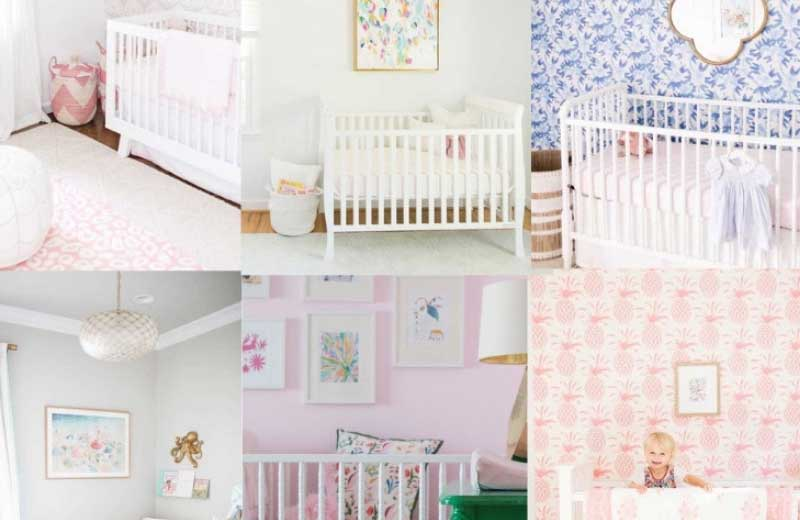 baby girl nursery ideas and themes for girl nurseries