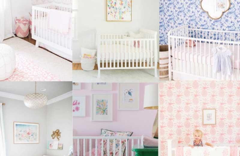 Curtains For Baby Girl Nursery: Girl Nursery Ideas: 25 Must See Ideas For Girl Nursery