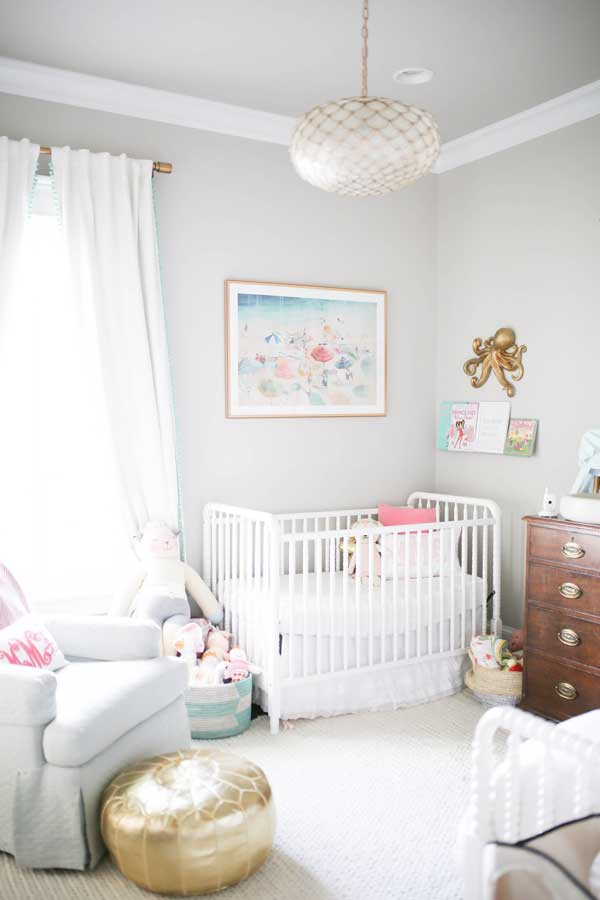 Baby Girl Nursery Themes Annie from Home of Malones creates the cutest and fun little girl nursery  for her daughter Molly.