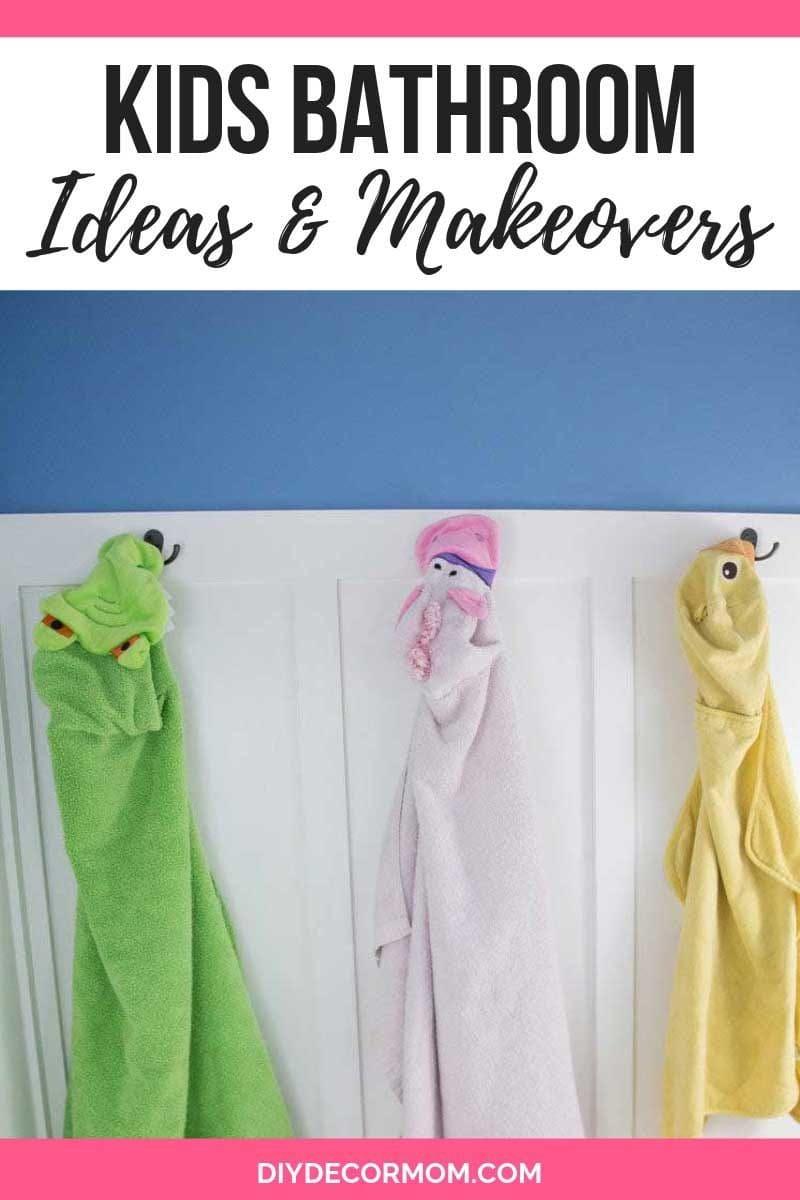 kids bathroom ideas and themes