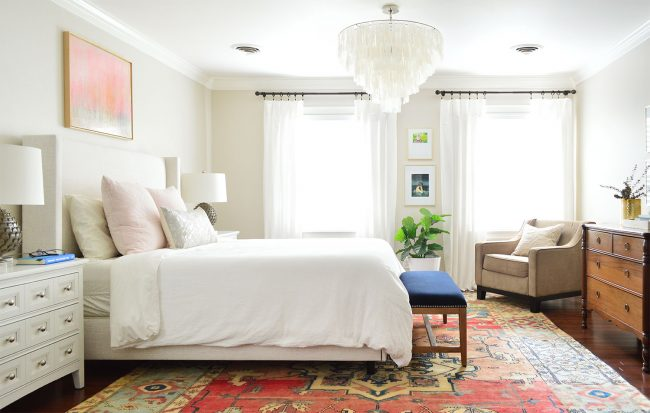 master bedroom colors- Edgecomb Gray by Young House Love