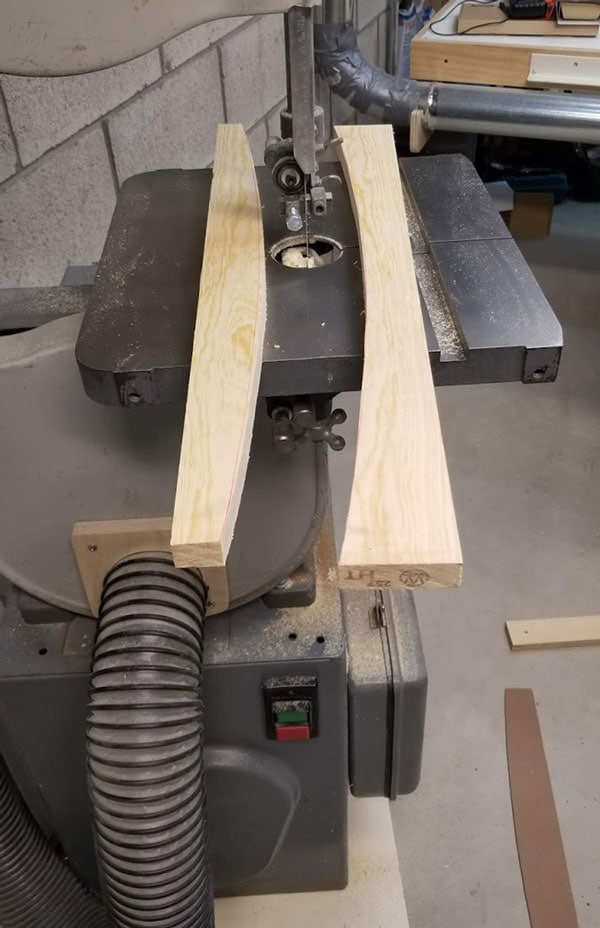curved bench slat for diy curved fire pit bench