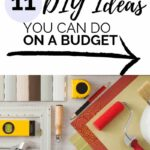 diy home improvement projects for DIYers on a budget